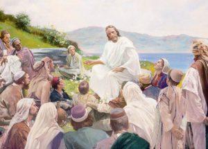 jezus aan het vertellen