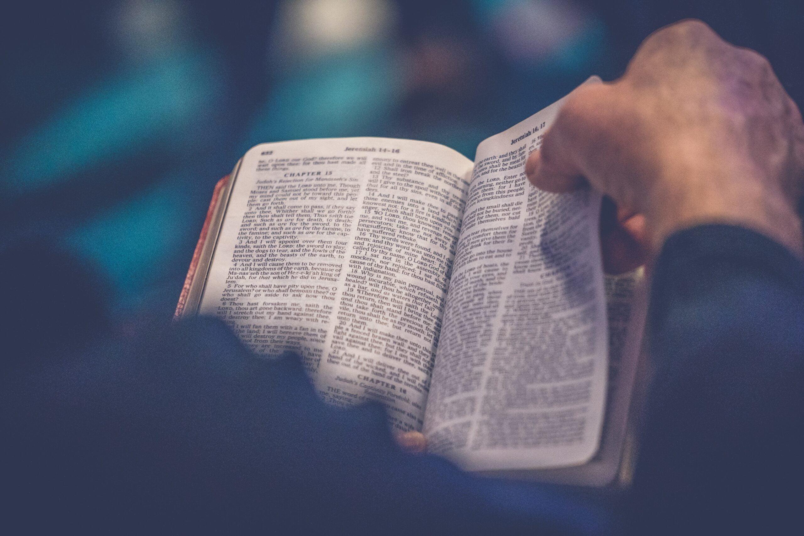 lezen in de bijbel