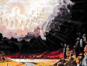 wederkomst jezus uit hemel