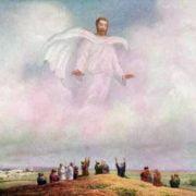 engel die naar de mensen komt