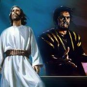 jezus en een man