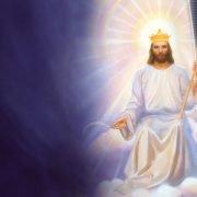 jezus in de hemel