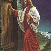 jezus klopt op deur