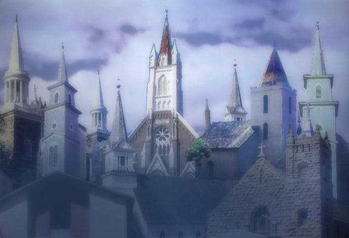 kerk en gebouwen