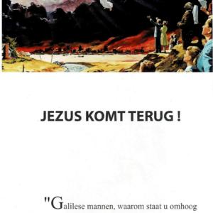 Jezus komt terug voorkant