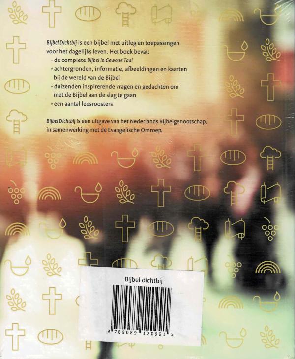 Bijbel dichtbij - achterkant
