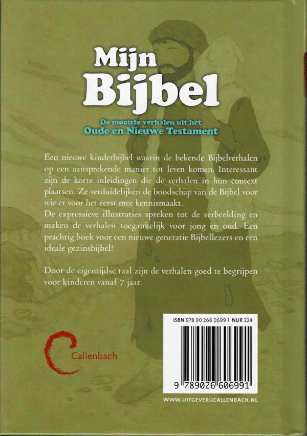 Mijn bijbel - achterkant
