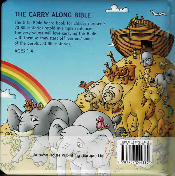 The carry along bible - achterkant